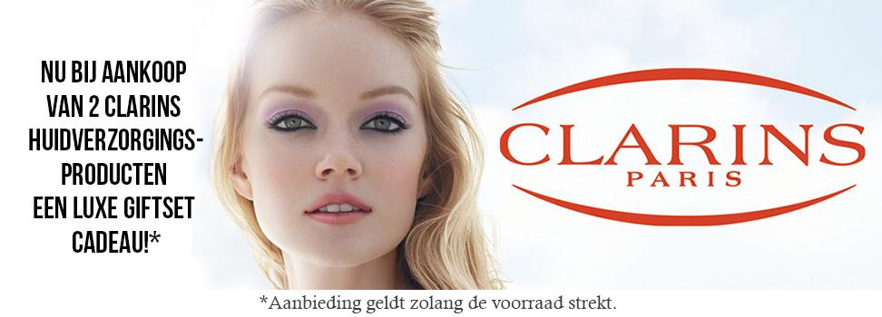Clarins actie