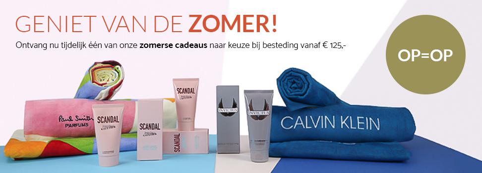Parfumswinkel gift actie 125 euro