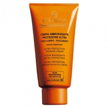 Collistar Ultra Protection Tanning Cream Zonnecreme 150 ml