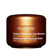 Clarins Creme Delicieuse Auto-Bronzante Zelfbruiner 125 ml