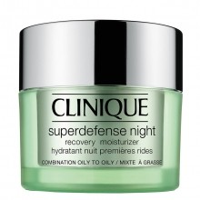 Clinique Superdefense Type 3 + 4 Night Recovery Moisturizer Moisturizer 50 ml
