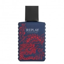 Replay Signature Red Dragon for Man Eau de Toilette Spray 30 ml