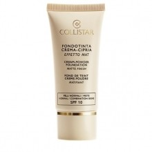 Collistar Cream Powder Foundation Matte Finish Foundation 30 ml