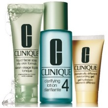 Clinique 3-Step Introduction Kit Type 4 Set 3 st