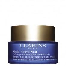 Clarins Multi-Active Nuit - Targets fine lines Nachtcrème 50 ml