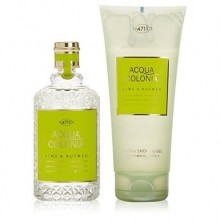 4711 Acqua Colonia Lime & Nutmeg Giftset 2 st
