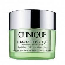Clinique Superdefense Type 3 + 4 Night Recovery Moisturizer Moisturizer 50 ml