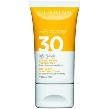 Clarins Dry Touch Sun Care Cream Face SPF 30 Zonnecrème 50 ml