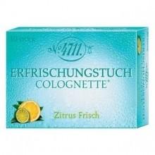 4711 Kölnisch Wasser Colognette Lemon Verfrissende Doekjes 20 st