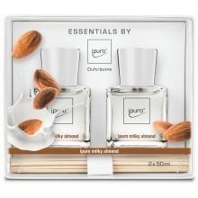 Ipuro Milky Almond Geurstokjes Set 2 st