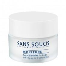 Sans Soucis Aqua Benefits Anti-Age 24H Care For Dry Skin Dag- en Nachtcrème 50 ml