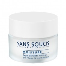 Sans Soucis Aqua Benefits Anti-Age 24H Care Dag- en Nachtcrème 50 ml