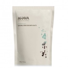 AHAVA Dead Sea Salt Natural Dead Sea Bath Salts Badzout 250 gr.