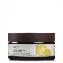 AHAVA Mineral Botanic Rich Body Butter Tropical Pineapple & White Peach Bodybutter 235 gr.