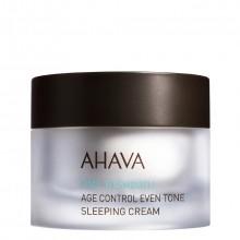 AHAVA Time to Smooth Age Control Even Tone Sleeping Cream Nachtcrème 50 ml