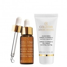 Collistar Pure Actives Omega 3 and 6 Oil + Oil Cream Gift Set 2 st.