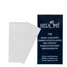 Herôme Nail Stencils Nagelverzorging 100 st.