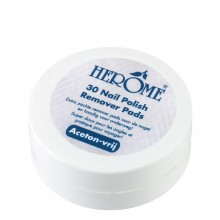Herôme Caring Nail Polish Remover Pads Nagellak Remover 30 st.