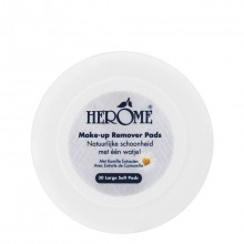 Herôme Gentle Eye Make-up Remover Pads Oogreiniging 30 st.