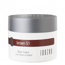 Janzen Brown 51 Body Cream Bodycrème 200 ml