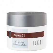 Janzen Brown 51 Body Scrub Bodyscrub 200 ml