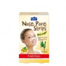 Purederm Nose Pore Strips Aloë Vera Neusstrips 3 st.