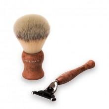 Acca Kappa Shaving Set Brown Scheerset 2 st.
