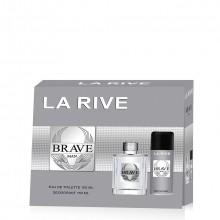 La Rive Brave Man Gift Set 2 st.