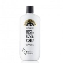 Alyssa Ashley Musk Bubbling Bath & Shower Gel Douchegel 750 ml