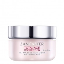 Lancaster Total Age Correction_Amplified Retinol-in-Oil Night Cream & Glow Amplifier Nachtcrème 50 ml