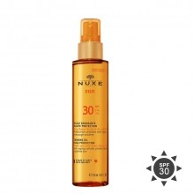 Nuxe Sun Tan Oil Spray SPF 30 High Protection Zonneolie 150 ml
