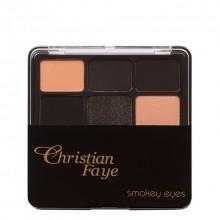 Christian Faye  Smokey Eyes Oogschaduwpalette 1 st.