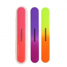 Tweezerman Neon Vijlen + Case Vijl 3 st.