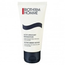 Biotherm Active Shave Repair Aftershave for Sensitive Skin Alcohol Free Aftershave Balm 50 ml