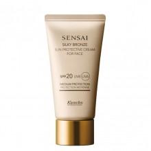 Kanebo SENSAI Silky Bronze Sun Protective Cream for Face Zonnecreme 50 ml
