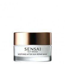 Kanebo SENSAI Silky Bronze Soothing After Sun Repair Mask Aftersun Masker 60 ml