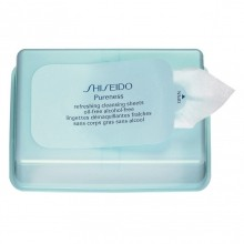 Shiseido Pureness Refreshing Cleansing Sheets Oil-Free Alcohol-Free Make-up remover 30