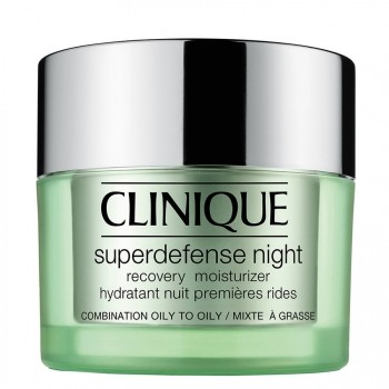 Clinique Superdefense Night Recovery Moisturizer Type 3 + 4 Nachtcrème 50 ml