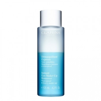 Clarins Démaquillant Express Yeux Sensibles Make-up Remover 125 ml