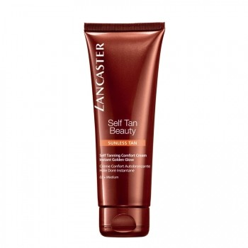 Lancaster Self Tan Beauty 02. Medium Self Tanning Comfort Cream for Face & Body Zelfbruinende Gel 125 ml