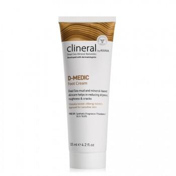AHAVA D-MEDIC Foot Cream Voetencrème 125 ml