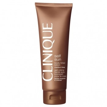 Clinique Self Sun Body Tinted Lotion Medium Deep Zelfbruinende bodylotion 125 ml