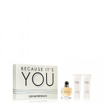 Armani Because it's You Gift Set 3 st.