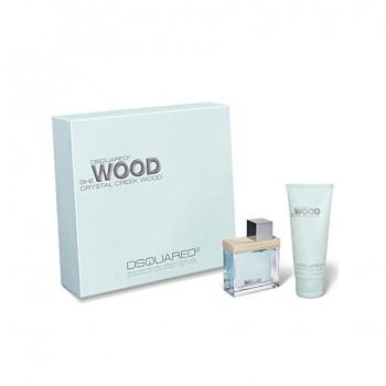 Dsquared2 She Wood Crystal Creek Wood Giftset 2 st.