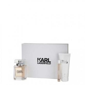 Karl Lagerfeld Karl Lagerfeld for Women Gift Set 3 st.