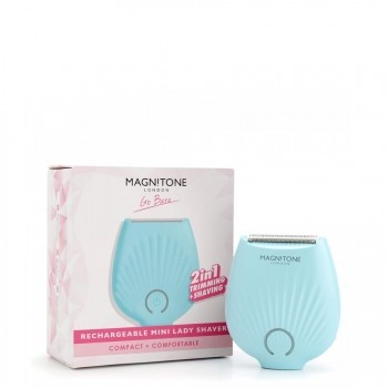 Magnitone London  Go Bare Rechargeable Mini Lady Shaver Scheersysteem 1 st.