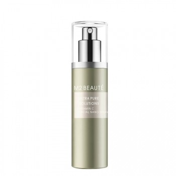 M2 Beauté Ultra Pure Solutions Cu Peptide & Vitamine B Facial Nano Spray Gezichtsspray 75 ml