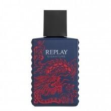 Replay Signature Red Dragon for Man Eau de Toilette Spray 30 ml