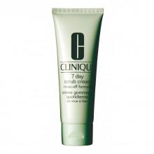 Clinique 7-Day Scrub Rinse-off Cream Reinigingscrème 100 ml