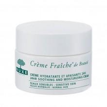 Nuxe Crème Fraîche de Beauté 24HR Soothing And Moisturising Cream Gezichtscrème 50 gr